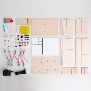 Fibonacci Clock Full Kit